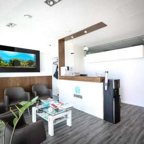 recepcia 24dental zubná pohotovosť Bratislava